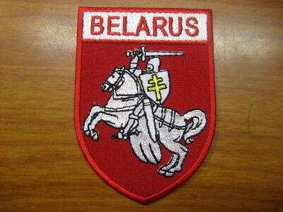 .Belarus Belarussian Coat of Arms PAHONIA patch Belarus Coat Of Arms