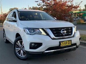 2018 Nissan Pathfinder R52 Series II MY17 ST-L X-tronic 4WD White 1 Speed Constant Variable Wagon Blacktown Blacktown Area Preview