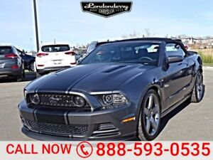 2014 Ford Mustang PREMIUM CONVERTIBLE Accident Free,  Navigation