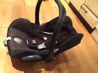 Maxi-Cosi CabrioFix Group 0 Plus Car Seat, Black Raven