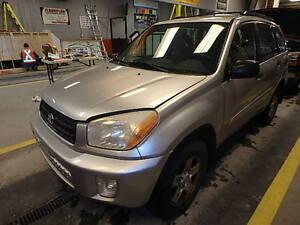 2002 Toyota RAV4 SUV, Crossover All-wheel Drive