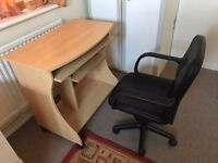 Computer Table and Chair for sale in Crawley near Gatwick.