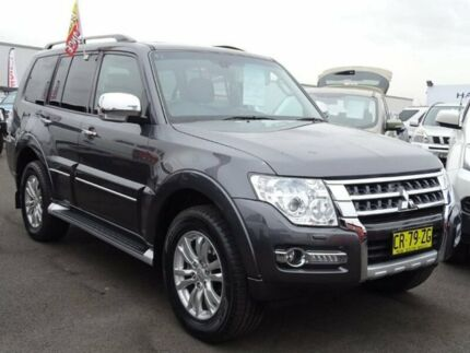 2016 Mitsubishi Pajero NX MY17 Exceed Grey 5 Speed Sports Automatic Wagon Albion Park Rail Shellharbour Area Preview