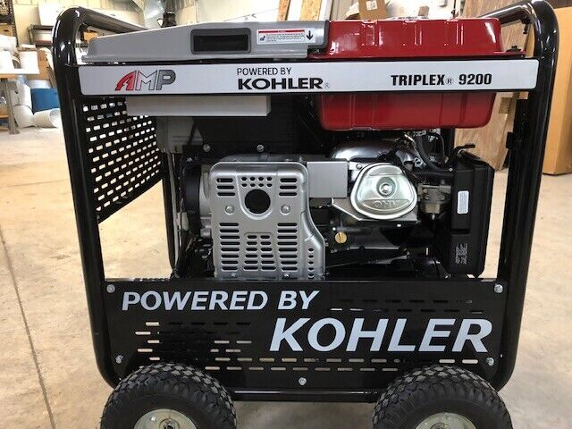 New!! AMP KOHLER TRIPLEX 9200 3 in 1 Generator/welder/Compressor ~ Warranty Inc!