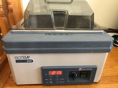 Fisher Scientific Isotemp 210 Digital Water Bath