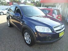 2007 Holden Captiva CG CX (4x4) Blue 5 Speed Automatic Wagon Sylvania Sutherland Area Preview