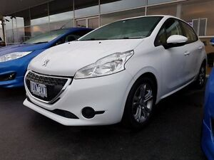 2014 Peugeot 208 A9 MY13 Active White 4 Speed Automatic Hatchback Strathmore Heights Moonee Valley Preview