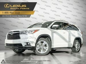 2015 Toyota Highlander Hybrid Limited All-wheel Drive (AWD)