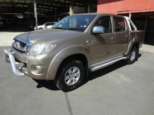 2009 Toyota Hilux GGN25R 08 Upgrade SR5 (4x4) Gold 5 Speed Manual Dual Cab Pick-up Coopers Plains Brisbane South West Preview