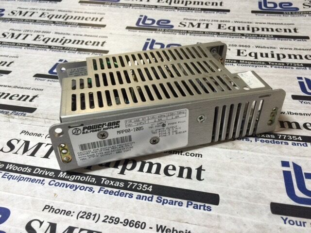 Power One DC Power Supply MAP80-1005