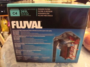 NEW IN BOX-FLUVAL C4 FILTERS