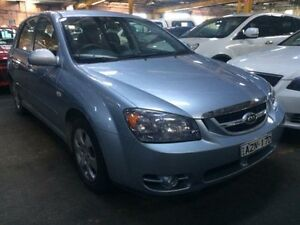 2006 Kia Cerato LD Blue 5 Speed Manual Hatchback Georgetown Newcastle Area Preview