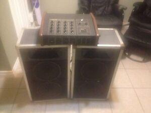 Traynor 4200 mixer amplifier