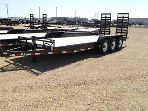 "24' x 6"" Channel Custom PJ Carhauler Trailer, 14K GVWR (CCT)"