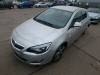 VAUXHALL ASTRA J HEADLIGHT PASSENGER SIDE BREAKING SPARES PARTS