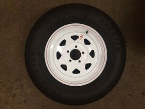 205/75R15 NEW WHITE SPOKE WHEELS & TIRES London Ontario image 1