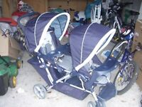 Poussette double graco / Double stroller Graco