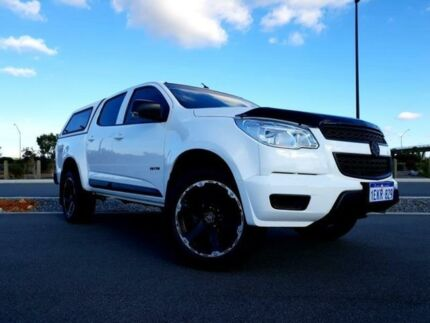 2014 Holden Colorado RG MY14 LX (4x4) White 6 Speed Automatic Crew Cab Pickup Kenwick Gosnells Area Preview