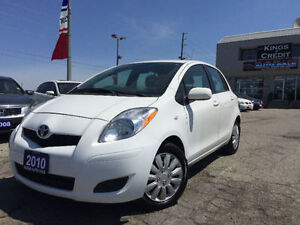 2010 TOYOTA YARIS LE/Brand new Tires
