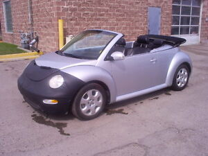 2003 VW  Beetle AUTO LOW KMS LOADED Convertible