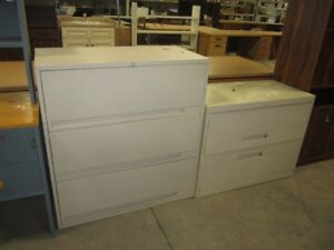 Lateral filing cabinets - 6955O