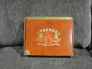Two Old Cigar Boxes