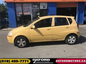 2006 Chevrolet Aveo LS-GAS SIPPER-AS TRADED