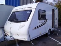 2010 Sprite Alpine 2 rear washroom 2 Berth Touring Caravan