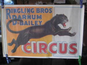POSTER  Ringling Bros and Barnum and Bailey Circus.