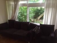 Sofa plus armchair available for collection from Kew. Free