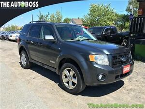 2008 Ford Escape Limited CERTIFIED! 4X4! ACCIDENT FREE! LEATHER!