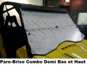 Fabrication Pare-Brise BRP Can-Am Yamaha  Arctic Cat Windshield