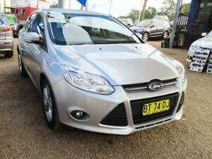 2013 Ford Focus LW MkII Trend PwrShift Silver 6 Speed Sports Automatic Dual Clutch Hatchback Mount Druitt Blacktown Area Preview