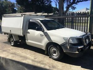 Toyota Hilux 2014 Workmate AUTOMATIV fitted with XL service body Seven Hills Blacktown Area Preview