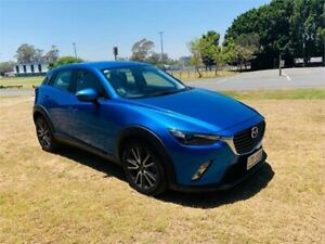 2015 Mazda CX-3 DK S Touring (FWD) Blue 6 Speed Automatic Wagon Southport Gold Coast City Preview