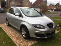 SEAT Altea S 1.9 TDI 89 Diesel. MPV. 2011. Silver. Great condition. One owner.