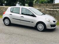 Renault, CLIO, Hatchback, 2006, full mot/80000 genuine miles