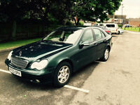 MERCEDES-BENZ C180 Kompressor 1.8 AUTOMATIC 2003MY PETROL LOW MILES SE (REDUCED)