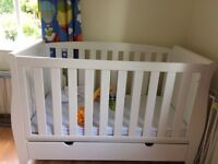 sleigh cot bed from Kiddicare