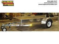 H&H SSA ALUMINUM SOLID SIDE UTILITY TRAILER