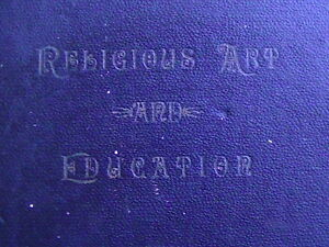 RELIGIOUS ART AND EDUCATION
