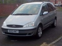 7 SEATER FORD GALAXY TDI AUTO LONG MOT VERY GOOD CONDITION!!