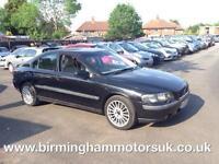 2004 (04 Reg) Volvo S60 2.0T S AUTOMATIC 4DR Saloon BLACK + MOT 11/01/18