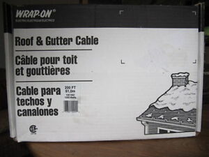 Roof and Gutter De-Icing cable