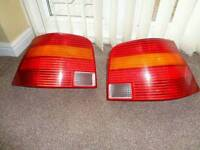 Vw golf mk4 rear break/tail lights genuine vw part