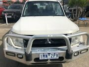 2007 Mitsubishi Pajero NS GLX LWB (4x4) White 5 Speed Manual Wagon Hoppers Crossing Wyndham Area Preview