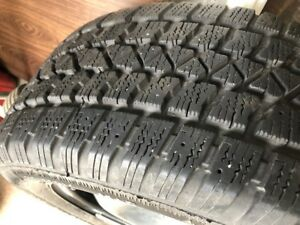 "16"" Winter Snow Tires on Rims - 5 x 108 - 255/55R16 - Volvo"