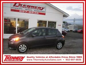2012 Toyota Yaris LE ONLY $9988.00 VERY LOW PAYMENTS OAC