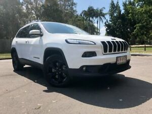 2015 Jeep Cherokee KL MY15 Blackhawk (4x4) White 9 Speed Automatic Wagon Woodridge Logan Area Preview