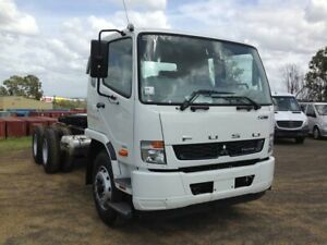 2020 Fuso Fighter White Cab Chassis Rocklea Brisbane South West Preview